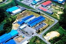 九州工場(俯瞰)