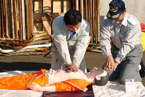 応急処置訓練
