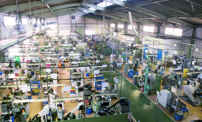 アンスコの工場