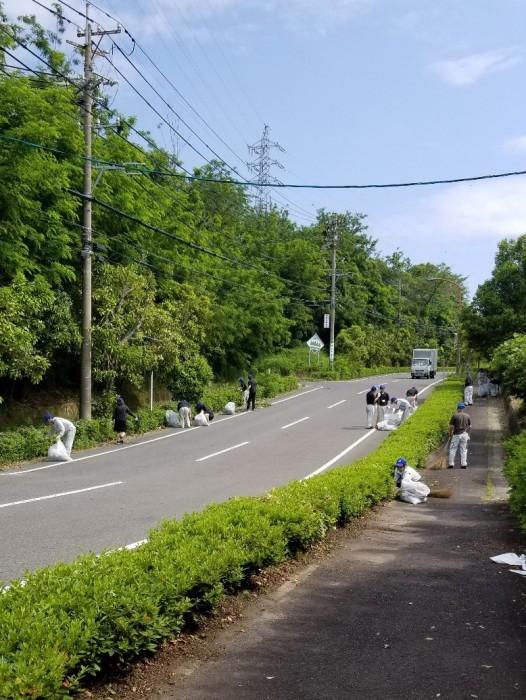 『ねじの日』地域清掃活動